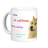 wow such shibe doge mug
