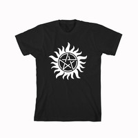 supernatural tattoo For T-Shirt Unisex Aduls size S-2XL
