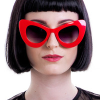 Red Kiki Sunnies