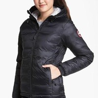 Women's Canada Goose 'Camp' Slim Fit Hooded Down Jacket