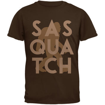 Sasquatch Brown Youth T-Shirt