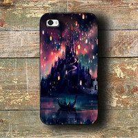 tangled lampion visits Case on iPhone 4 / iPhone 4S / iPhone 5 / Samsung S2 / Samsung S3 / Samsung S4 / Samsung S5