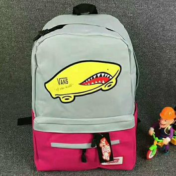 VANS Trending Fashion Sport Laptop Bag Shoulder School Bag Backpack G-JJ-MYZDL-4