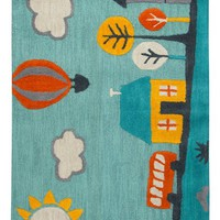 Rizzy Home Play Day Jolly Town Rug   Nordstrom
