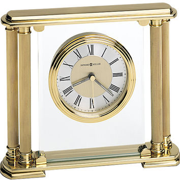 0-011134>Athens Table-top Clock Brushed Brass