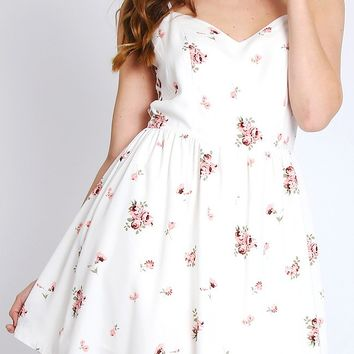 Sweet Melody Floral Dress