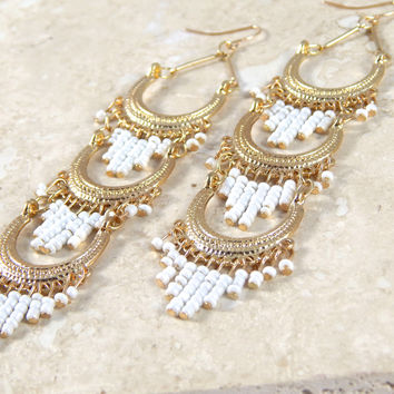 Gypsy Tiered Earrings
