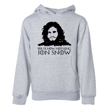 You Know Nothing Jon Snow Hoodie Sweatshirt