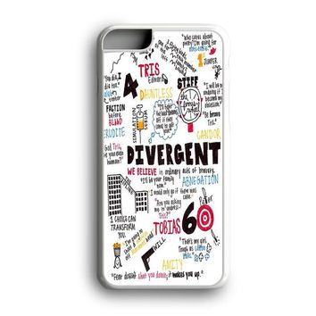 Black Friday Offer Divergent Quote Collage Art iPhone Case & Samsung Case