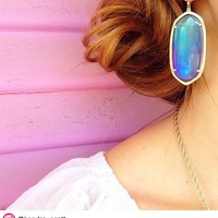 Danielle Earrings in Mystic Iridescent - Kendra Scott Jewelry