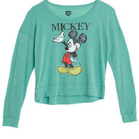 Mickey Sketch Long-Sleeve Tee