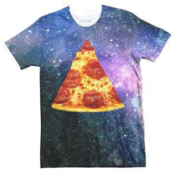 Pizza Galaxy Sublimated T-Shirt