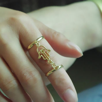 New Arrival Jewelry Shiny Gift Accessory Stylish Simple Design Diamonds Metal Ring [4918838660]