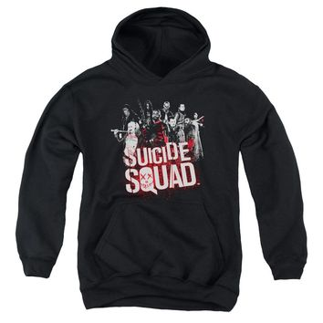 Suicide Squad - Squad Splatter Youth Pull Over Hoodie