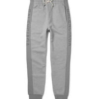 Balenciaga - Slim-Fit Tapered Fleece-Back Cotton-Jersey Sweatpants