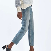 MOTO Vintage Straight Leg Jeans - Jeans - Clothing