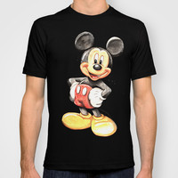 Mickey Mouse T-shirt by Digiartpicture