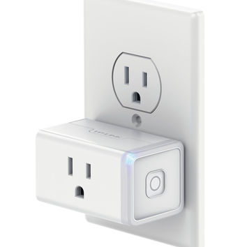 TP-Link Smart Plug Mini No Hub Required Wi-Fi Works w/ Amazon Alexa & Google Assistant Control your Devices from Anywhere Occupies Only One Socket (HS105) Smart Wi-Fi Plug Mini