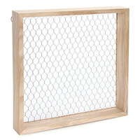 "Darice 12 by 12"" Chicken Wire, Shadowbox with Chip Wire"