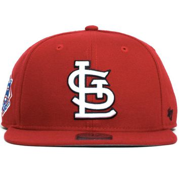 St. Louis Cardinals Sure Shot Snapback Hat Red