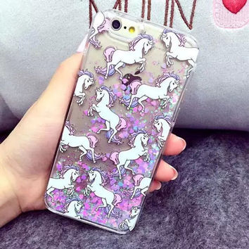 Iphone 6/6s Stylish Cute Hot Deal Unicorn Iphone Apple Phone Case [8564193287]