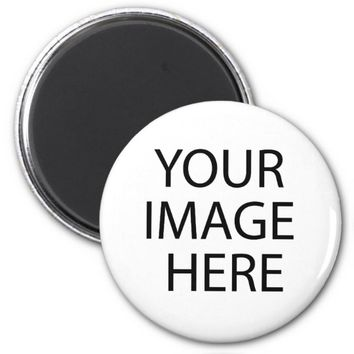 Custom Photo Collage Create Your Own Round Magnet