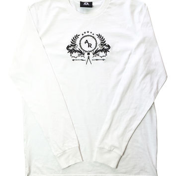 WHITE SACRIFICE LONG SLEEVE