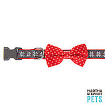 Martha Stewart Pets® Fair Isle Dog Collar