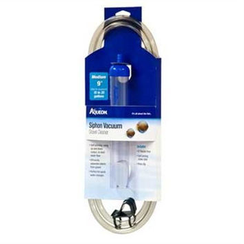 Aqueon 06229 Medium Siphon Vacuum Aquarium Gravel Cleaner 9-Inch