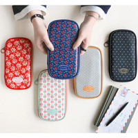 Iconic Un jour de reve pattern zip around pencil pouch ver.2