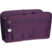 RFID Blocking Purse Organizer - Eggplant