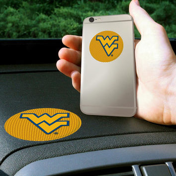 West Virginia Mountaineers NCAA Get a Grip Cell Phone Grip Accessory