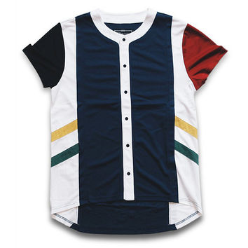 Misunderstood Olympic Color Panel USA Mesh Baseball Jersey - Last One!