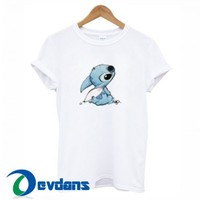 Stich Graphic T Shirt Women And Men Size S To 3XL | Stich Graphic T Shirt