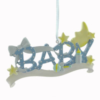 Personalized Ornaments Baby's First Personalized Ornament