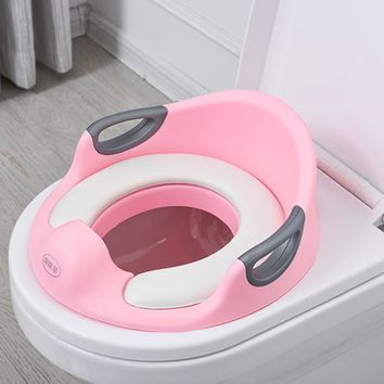 2017 New Arrival Winter Baby Girl Boy Portable Toilet Seat Safe & Comfort WC Toilet Mat Training Urinals Soft Chair Pad Seat