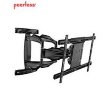 """Art Dual Wall Arm 50 to 80"""",SmartMount Articulating Wall Arm for 50"""" to 80"""" Flat Panel Displays.  Display can be held as close to the wall as 4.43"""" (113mm) or be extended as far as 27.55"""" (700mm); Integrated cable management contains"""