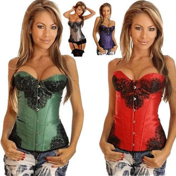 Shaper Body Waist Stylish Skinny Palace Sexy Lace Push Up Corset [4965292356]