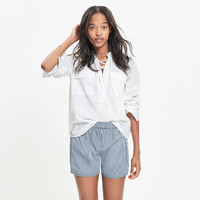 Terrace Lace-Up Shirt