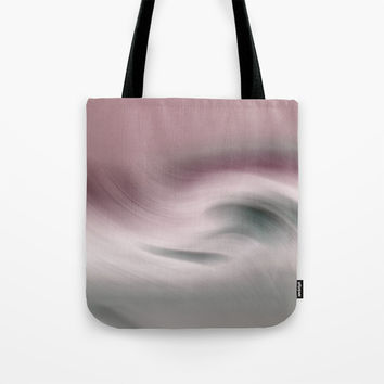 Surreal Waves 2 Tote Bag by Linsey Williams Art
