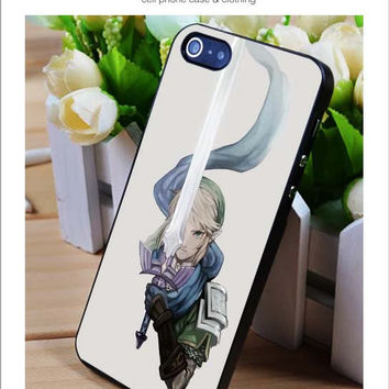 Zelda Sword iPhone for 4 5 5c 6 Plus Case, Samsung Galaxy for S3 S4 S5 Note 3 4 Case, iPod for 4 5 Case, HtC One for M7 M8 and Nexus Case