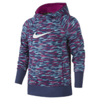 Nike KO 3.0 Allover Print Pullover Girls' Training Hoodie