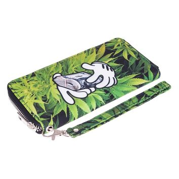 CannaWallet - Zipper Clutch Wallet