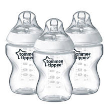 Tommee Tippee Closer to Nature 9 Ounce Bottle 3 Pack