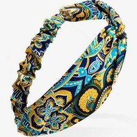 Knotted Paisley Headwrap