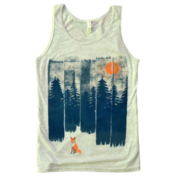 Fox in the Wild Tank Top