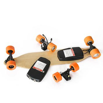 Max Kit - Dual motor electric Longboard 4 wheels electric skateboards