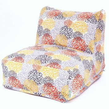 Citrus Blooms Bean Bag Chair Lounger