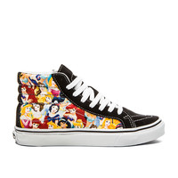 Vans Sk8 Hi Slim Disney Sneaker in Multi Princess