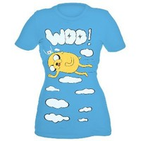 Adventure Time Woo Girls T-Shirt Plus Size 3XL